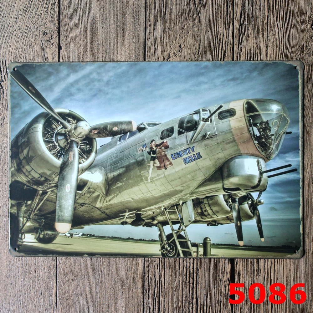 Liberty Belle Fly Vintage Metal Signs Tin Plate Sign Wall Decoration for Cafe Bar Shop and Restaurant 8x12 Inch