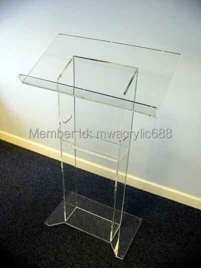 Free Shipping Beautiful HoYodeMonterrey Price Reasonable Acrylic Podium Pulpit Lectern  цена и фото