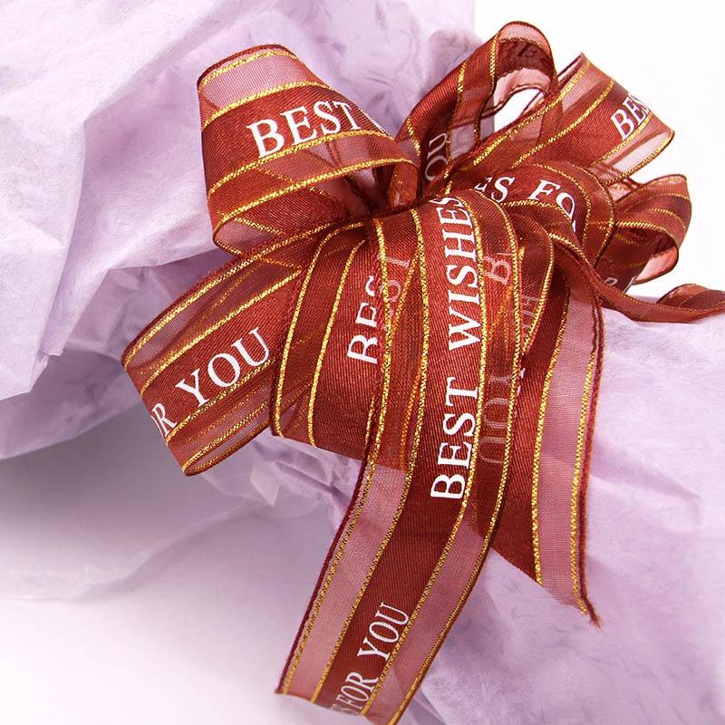 25 Yards Silk Satin Ribbon Wedding Party Decor Wrap Christmas Apparel Sewing LSA