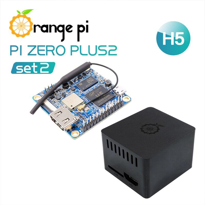 US $25 55 |Orange Pi Zero Plus 2 H5 SET2: Orange Pi Zero Plus 2  H5+Protective ABS Black Case-in Demo Board from Computer & Office on  Aliexpress com |
