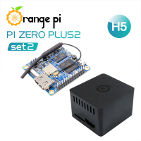 Orange Pi Zero Plus 2 H5 SET2: Orange Pi Zero Plus 2 H5+Protective ABS Black Case