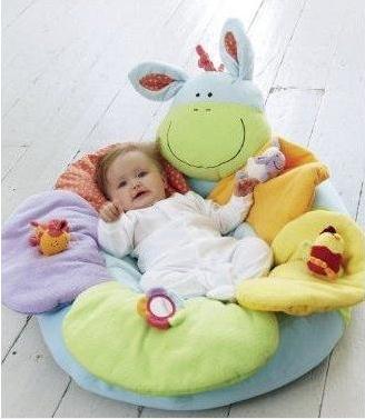 ФОТО Free Shipping 10pcs/lot Blossom Farm Sit Me Up Cosy 6 styles Inflatable Baby Sofa Seat Play Mats Infant Soft Sofa