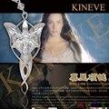 Hot Película el Señor De Los Anillos Hobbit Aragorn Elfos Princesa Arwen estrella de la tarde Colgante Crepúsculo Estrella Colgante de Joyería Película XL171