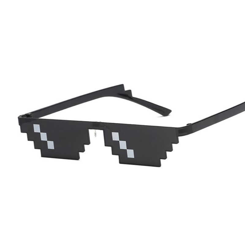 نظارات 8 بت MLG منقطة النظارات الشمسية النساء العلامة التجارية البلطجة الحياة نظارة حفلات خمر نظارات الإناث