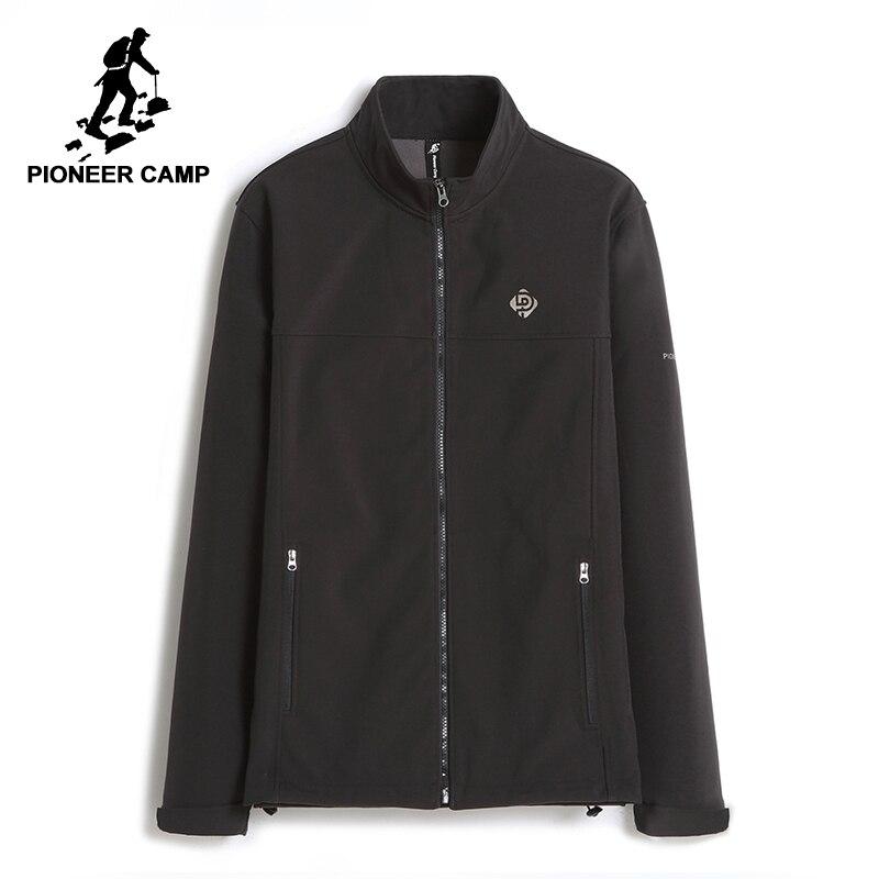 Acampamento pioneiro novo casaco jaqueta corta-vento dos homens à prova d' água roupas de marca primavera outono lã quente casaco masculino top quality AJK702380