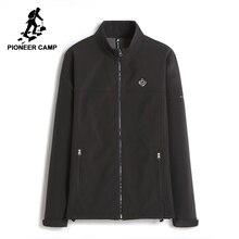 Pioneer Camp new waterproof windbreaker jacket coat men brand clothing spring autumn fleece warm coat male top quality AJK702380