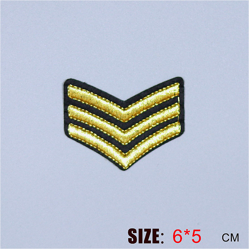 Love Double Heart Arrow Pattern Embroidered Iron on Patch Applique Badge DIY