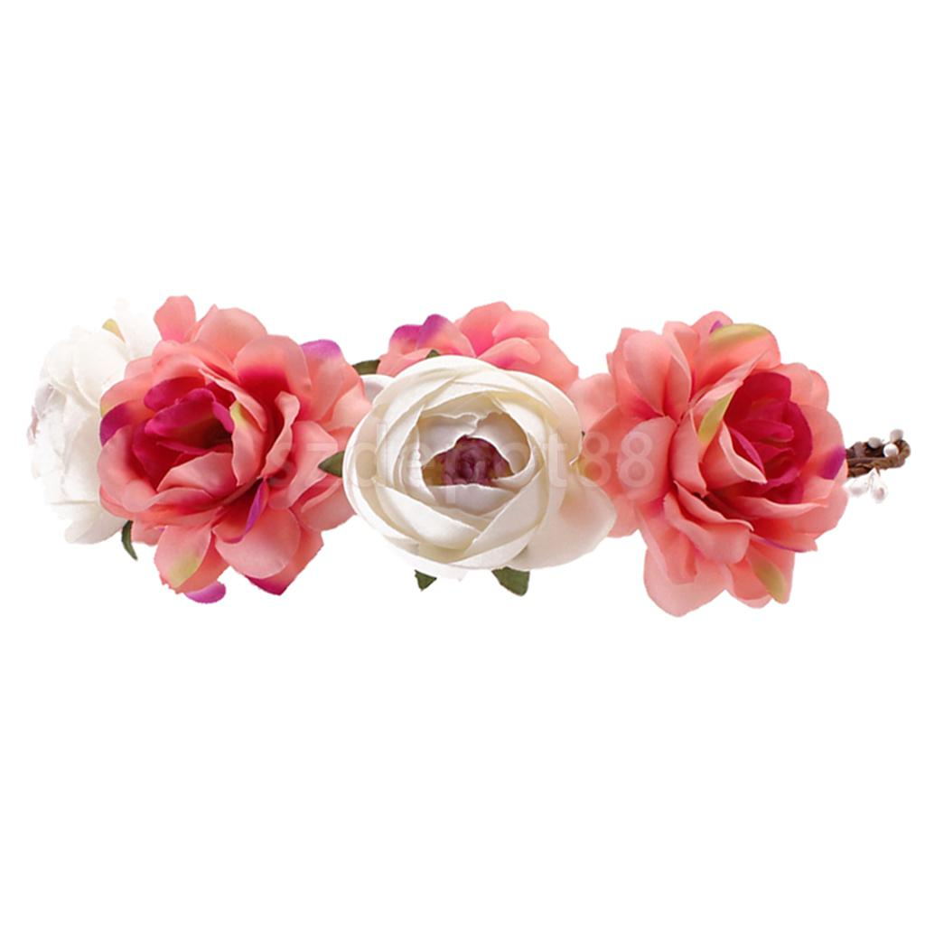 Aliexpress buy 6 pieces pack women bride flower headband aliexpress buy 6 pieces pack women bride flower headband bohemian flower crown hairband from reliable crown hairband suppliers on first sight izmirmasajfo