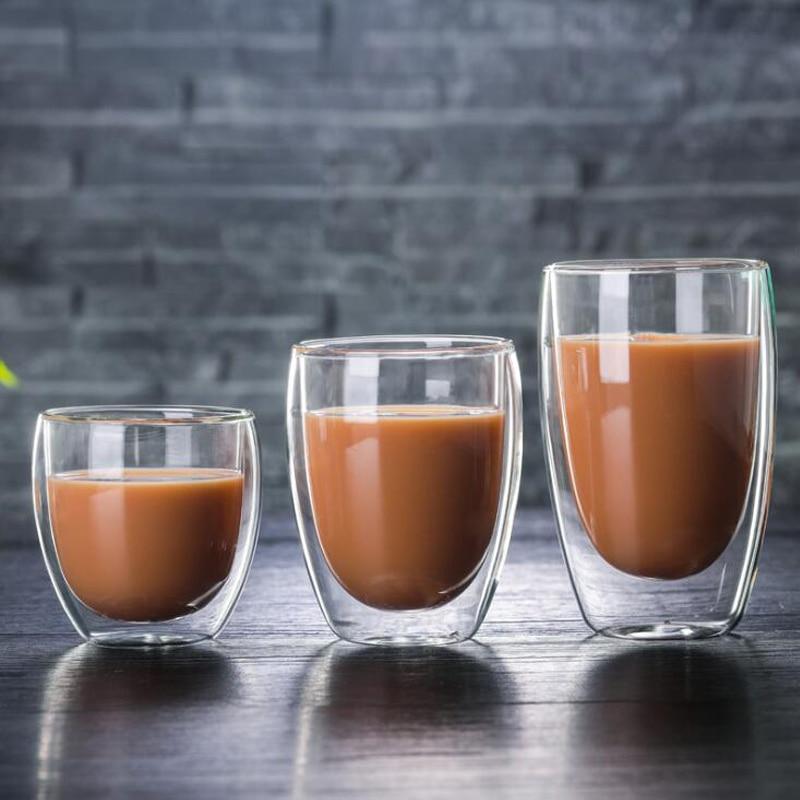 1 шт., бутылка для воды, набор кофейных чашек, термостойкая двухслойная стеклянная чашка, пивная кружка ручной работы, чашки для чая, виски, ст...