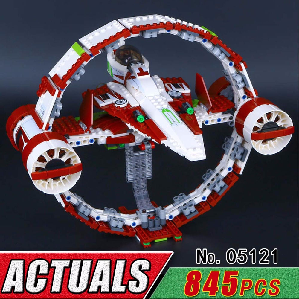 LEPIN 05121 The Je Star di Fighter With Hyperdrive Model Bricks Compatible Building Block Set Classic Military War Toy Child Boy rollercoasters the war of the worlds
