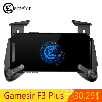 Gamesir F3 Plus Gamepad PUBG Shooting Game Handle Capacitor Combo Support iosandroid System Mobile Phone Game Accessories turbine