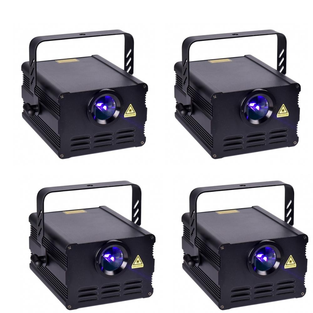 (4 Units/pack) DJ Laser Light 1000mw 1w RGB  Animation Stage Laser Light  Auto Sound  DMX  ILDA Good Price Good Quality
