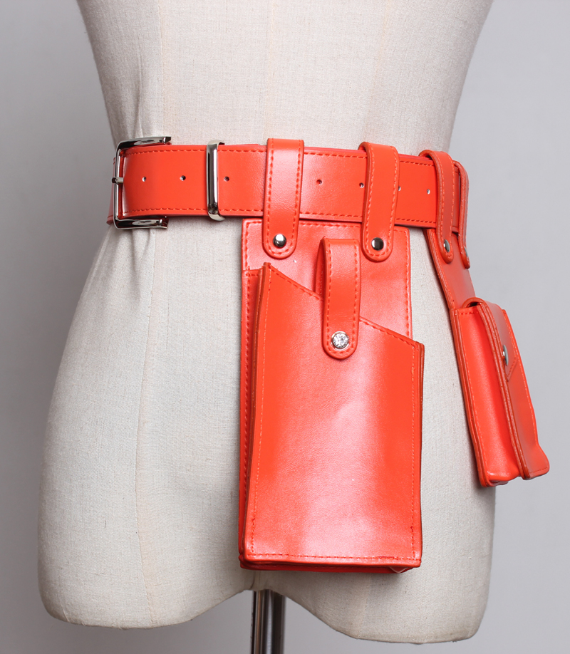 fanny pacote saco da cintura cor sólida
