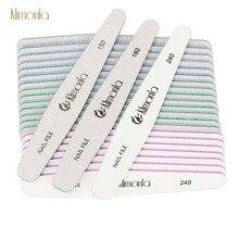 25pcs Nail Art Sanding Buffer Files For UV Gel Nail Polish Blocks Manicure Pedicure Tips UV Gel Nail File 150/180/240 недорого