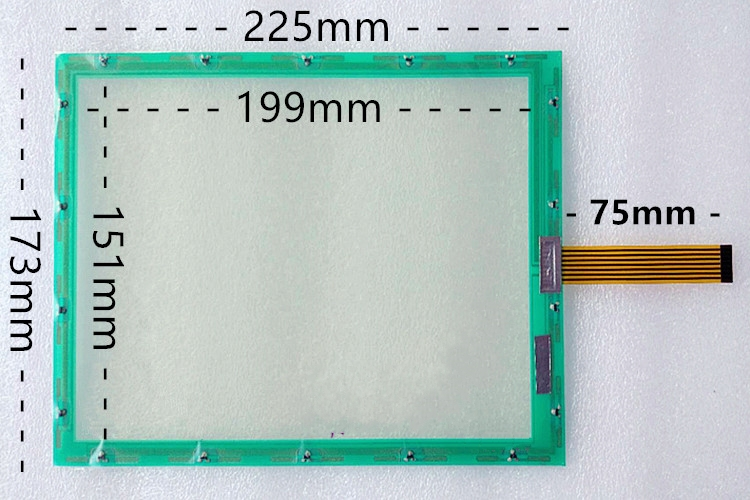10.4 inch 7 line N010-0550-T611 touch screen 225*173, free delivery. original 7 wire touch screen n010 0550 t717 industrial touch screen