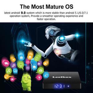 Image 3 - アンドロイド 9.0 スマート Tv ボックス Android 9.0 4 ギガバイト 64 ギガバイト RK3328 クアッドコア Q4 最大 2.4 3g Wifi H.265 4 18K HD Google プレーヤー Q4 プラスセットトップボックス
