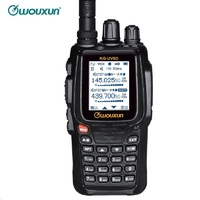 Baofeng KG 8D Two Way Radio Digital Dual Band Transceiver 999 Memory Channels UHF/VHF Ham Walkie Talkie Color Screen Interpho