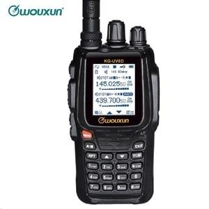 Image 1 - WOUXUN KG 8D בתוספת דו דרך רדיו דיגיטלי Dual Band משדר 999 זיכרון ערוצים UHF/VHF מכשיר קשר חזיר צבע מסך רדיו