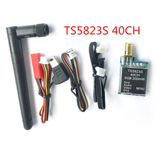 TS5823S 5.8G 200mW Image Transmission 40CH Wireless Telemetry Audio Vidio A/V Transmitter Tx for FPV Multicopter Drone