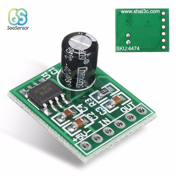 Mini XPT8871 Mono Stereo Lithium Battery Power Amplifier Board 6W Sing Machine Module 3v 5v 5W Audio Output Input XH-M125 image