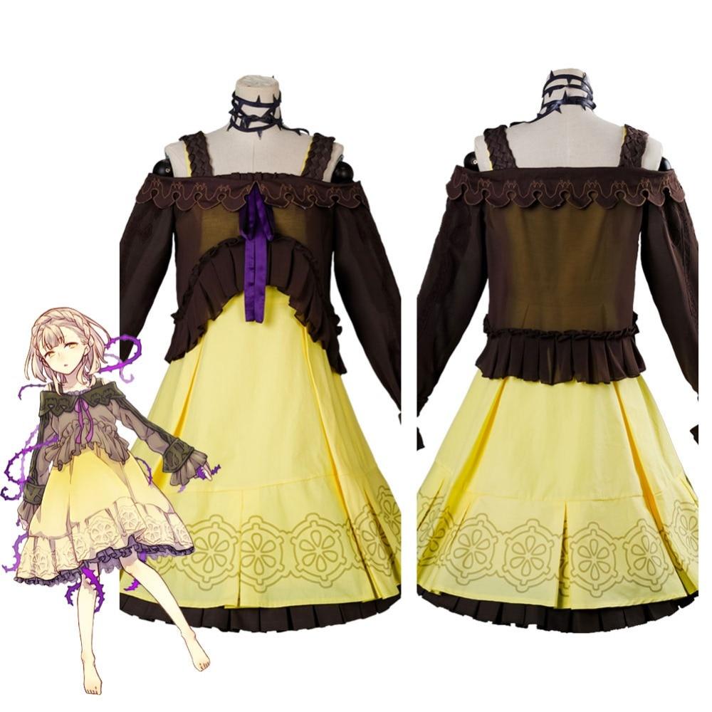 Game SINoALICE Sleeping Beauty Cosplay Costume Briar Rose Dress silk lace Adult Women Halloween Carnival Costumes
