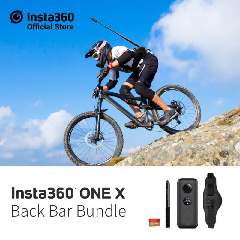 Insta360 ONE X caméra d'action sportive 5.7 K vidéo VR 360 pour iPhone et Android