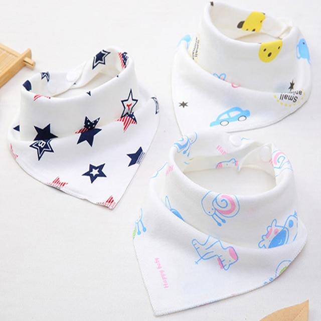 CHUYA Baby Bibs Boy&Girl Burp Cloths Bandana Bibs Baby Babies Bebes Infant Waterproof Bib Bandanas babero con mangas largas