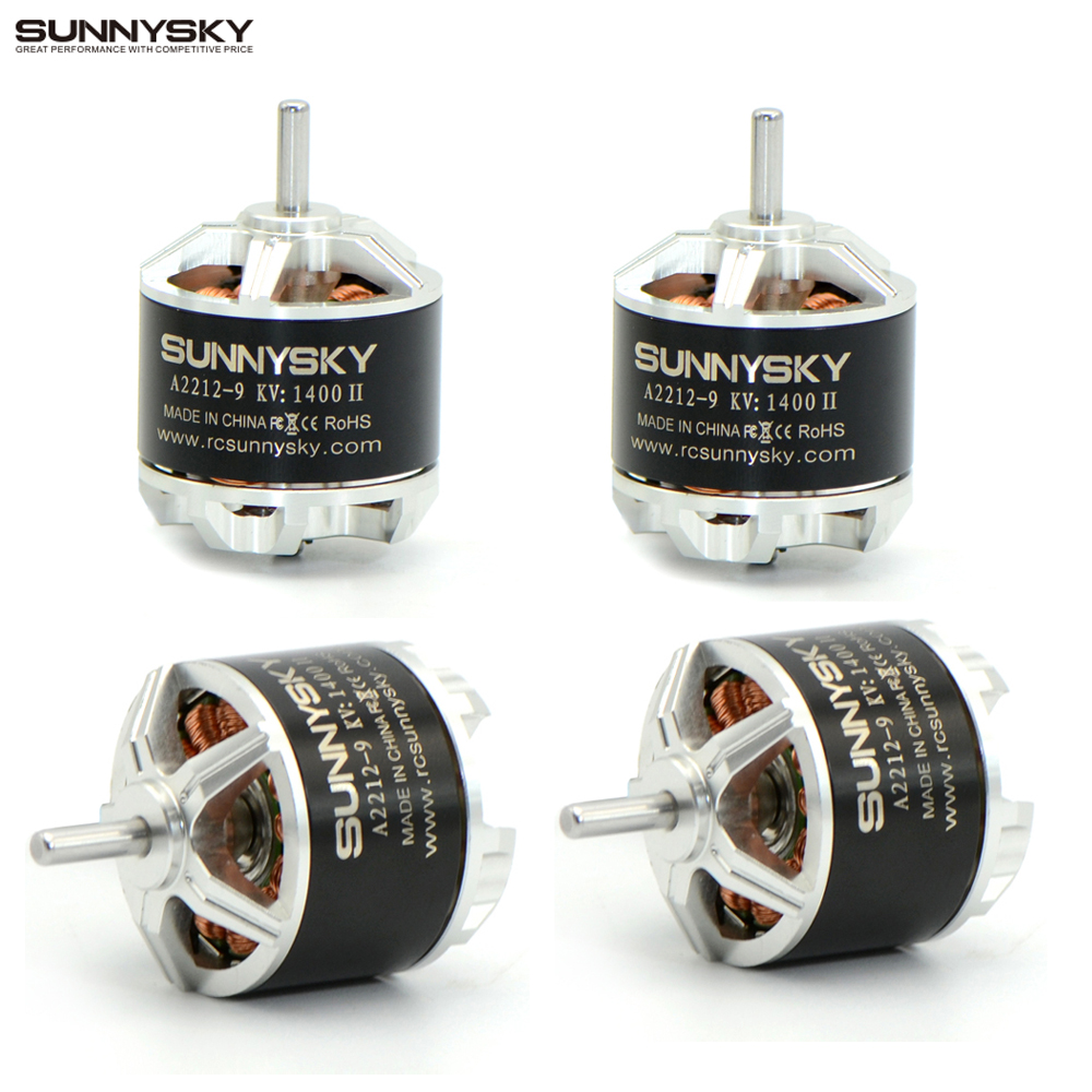 4pcs lot Sunnysky A2212 800KV 980KV 1250KV 1400KV Brushless Motor For F450 Quadcopter Drone RC Airplane
