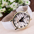 Ballet Dance Girl Roman Scale Quartz Watch Student Casual Leather Wristwatch Woman Dress Watches Relogio Feminino
