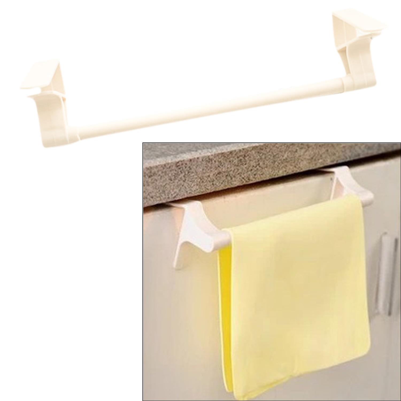 Bathroom towel rail sets - Nc Portable Plastic Bathroom Towel Cloth Bar Set Rack Tower Holder Hanger For Kitchen Bathroom Hotel