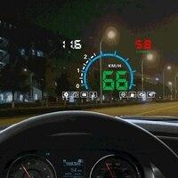 Car Speed Projector Automobile Electronics Accessories OBD2 Digital Car Speedometer Windshield Projector Head Up Display OBD HUD