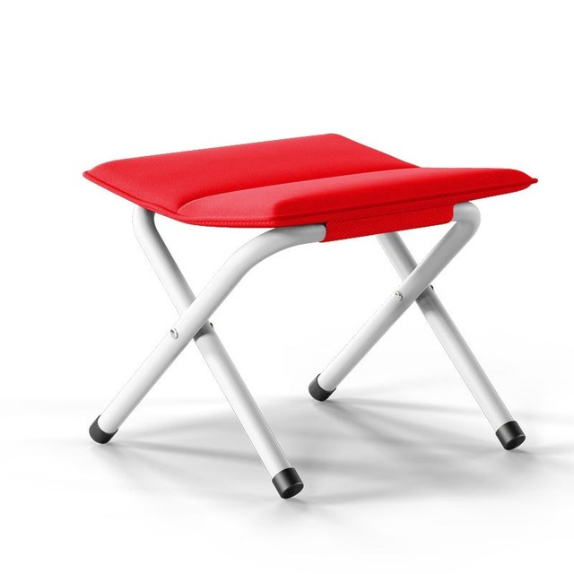 15% X12  4 LEGS STRONG CHAIR SEAT FOLDING CAMPING STOOL PORTABLE HIKING FISHING BBQ COLOURS AVAILABLE 1