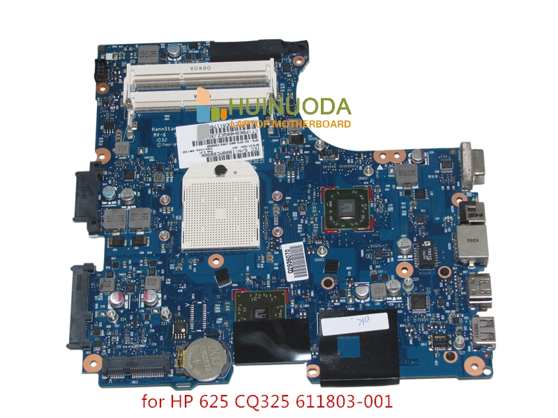NOKOTION 611803-001 Laptop Motherboard for HP 625 325 425 RS880M DDR3 Socket S1 free cpu 613211 001 main board for hp probook 4525s laptop motherboard socket s1 ddr3 with free cpu