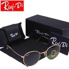 Round Sunglasses Women Brand Designer Sunglasses Driving Sun Glasses Men Glass Lens Sunglasses Ladies Female Sunglasses UV400