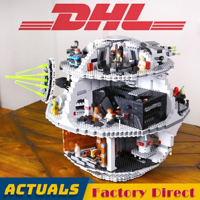 Death Star 35000 Building Block Star Series Wars Children TIE Fighter Bricks Toys Educational Gifts Compatible