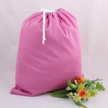 Nappy Wet-Bag Bags Storage-Diaper Travel Waterproof Drawstring Washable Candy-Color 36--28cm