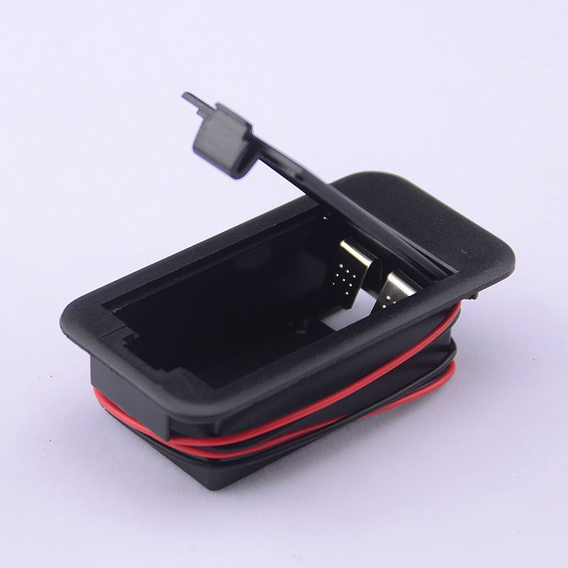 GuitarFamily 9V Battery Box Battery Case For Electric Guitar Bass And Active Pickup MADE IN KOREA new 8 strings electric guitar pickup in black made in south korea art 33