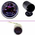 "EE support Car Universal Smoke Len 2"" 52mm Vacuum Gauge Meter In.Hg + 52mm Black Pod XY01"