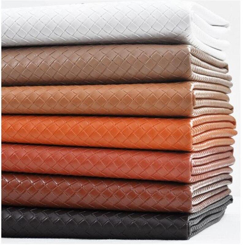 1 шт. = 45 см * 136 см Мода Печать PU кожаная ткань для швейных багажа сумки обувь скатерть кожаная ткань материал