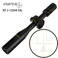 SNIPER NT 2 12X44SAL Riflescope Practical High end tactical Sights for Rifle and Air Magnification from 2x to 12x SFP Scopes