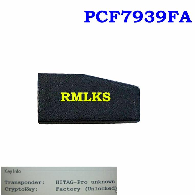 New Original PCF7939FA 128-bit Transponder Car Key ID49 Chip For Ford 128 Bit Ignition Key For Mazda 128-Bit Auto TransponderKey