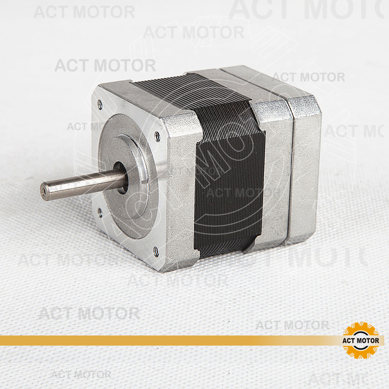 ACT Motor Nema17 Brushless DC Motor 42BLF01 24V 26W 4000RPM 3Phase  Single Shaft CNC Router Milling Cut Laser PlasticACT Motor Nema17 Brushless DC Motor 42BLF01 24V 26W 4000RPM 3Phase  Single Shaft CNC Router Milling Cut Laser Plastic