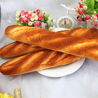 Squishy Jumbo Baguette Franse Brood 48 cm Trage Stijgende Bakkerij Collection Gift Decor Speelgoed