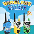 2Pcs/Set Toy Walkie Talkies Mini Portable Handheld Two-Way Radio Toy With Original Box For Kids Children Outdoor Interphone Toy
