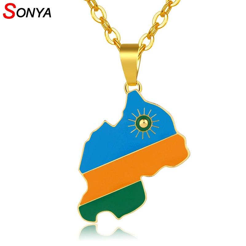 Le rwanda rwandais drapeau pays état national nouveauté aimant de réfrigérateur
