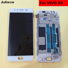 цена на For VIVO X9 LCD Display+Touch Screen+Frame+Tools Digitizer Assembly Replacement Accessories For Phone 5.5