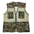 Reed Camouflage Hunting Vest Duck Camo Hunter Waistcoat Vest as Hunting Gear