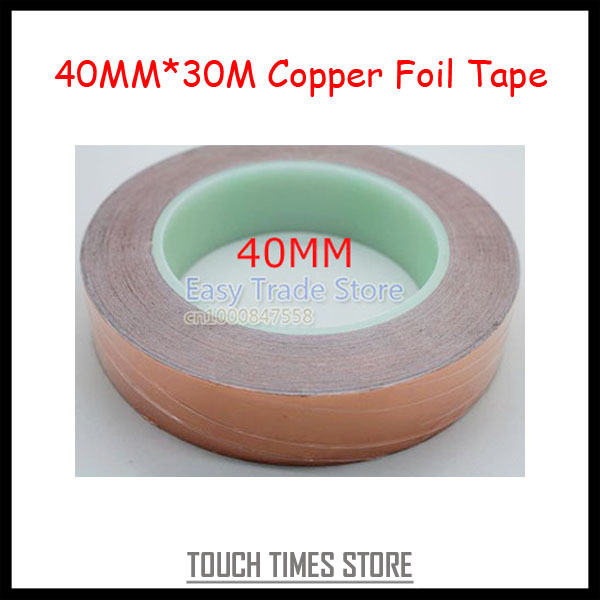 40MM*30M Conductive Copper Foil Tape Free Shipping