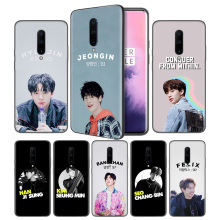 Stray Kids Woojin Chan Changbin Soft Black Silicone Case Cover for OnePlus 6 6T 7 Pro 5G Ultra-thin TPU Phone Back Protective