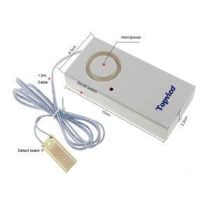 Image 2 - Topvico 3 pcs Détecteur de Fuite Deau Capteur Fuite Détection Dalarme 130dB Alerte Sans Fil Système Dalarme de Sécurité À Domicile
